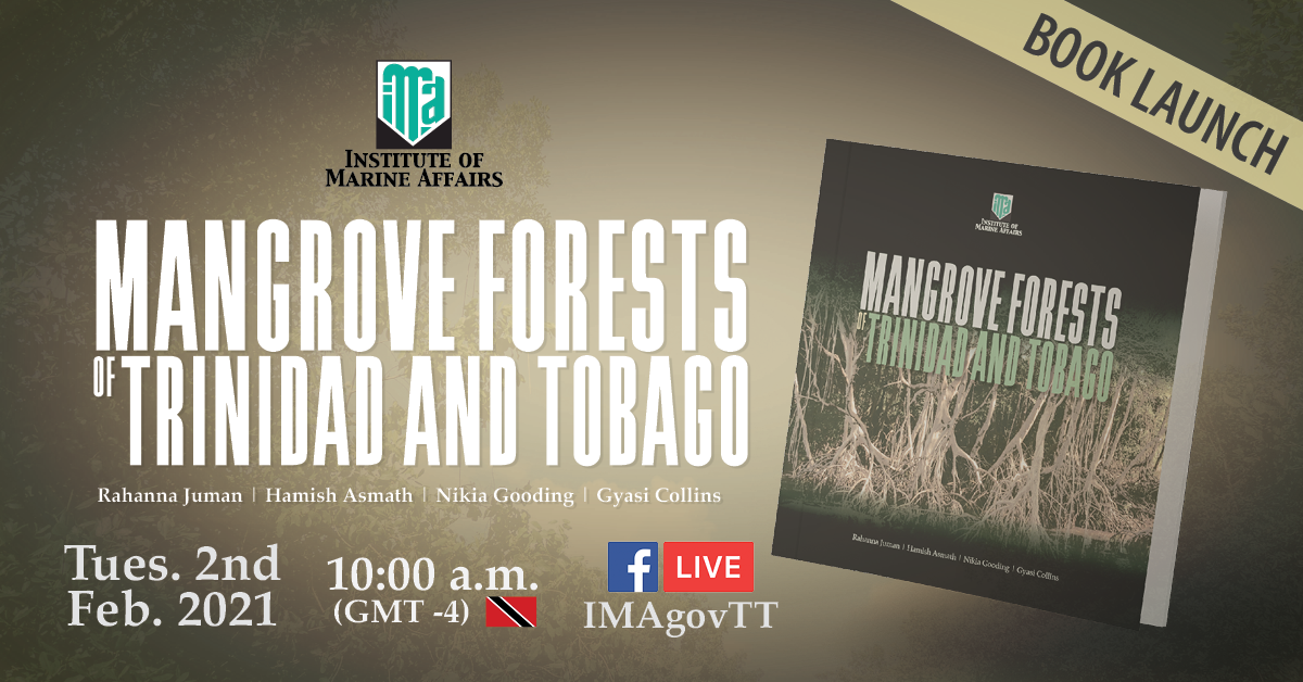 FB-cover-Mangrove Forests in Trinidad and Tobago – Book launch – invitation